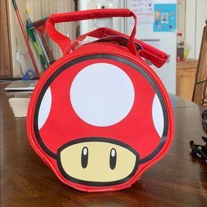 👉🏼4for$10 NWT Super Mario Mushroom Lunch bag